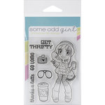 Some Odd Girl - Clear Acrylic Stamps - Hipster Mae
