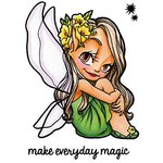 Some Odd Girl - Clear Acrylic Stamps - Fairy Wings