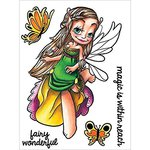 Some Odd Girl - Clear Acrylic Stamps - Flutter By Fairy