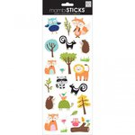 Me and My Big Ideas - MAMBI Sticks - Clear Stickers - Woodland Animals