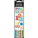 Me and My Big Ideas - MAMBI Sticks - Puffy Stickers - Preschool 123's
