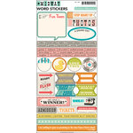 October Afternoon - Midway Collection - Cardstock Stickers - Words
