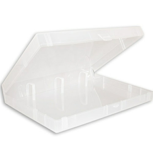 The Ultimate Crafter's Companion - EZ Mount Stamp Storage Binder - Mini 3-Ring - Clear