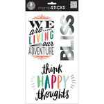 Me and My Big Ideas - MAMBI Sticks - Large Word Clear Stickers - Good Life