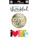 Me and My Big Ideas - MAMBI Sticks - Clear Stickers - So Thankful