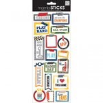 Me and My Big Ideas - MAMBI Sticks - Cardstock Stickers - Washi Sport Sayings