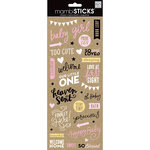 Me and My Big Ideas - MAMBI Sticks - Clear Stickers - Sweet Baby Girl Sayings