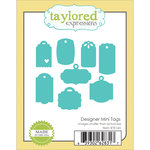 Taylored Expressions - Die - Designer Mini Tags