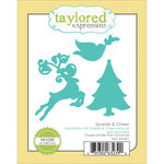 Taylored Expressions - Die - Christmas - Sparkle and Cheer