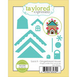 Taylored Expressions - Die - Christmas - Sack It - Gingerbread House