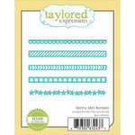 Taylored Expressions - Die - Skinny Mini Borders