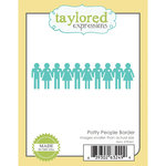 Taylored Expressions - Die - Potty People Border