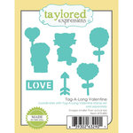 Taylored Expressions - Die - Tag-A-Long Valentine