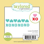 Taylored Expressions - Die - Love Confetti