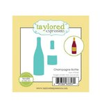 Taylored Expressions - Die - Champagne Bottle