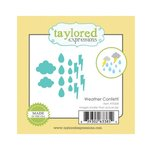 Taylored Expressions - Little Bits Dies - Weather Confetti