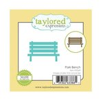 Taylored Expressions - Little Bits Dies - Park Bench