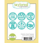 Taylored Expressions - Die - Patriotic Treat Toppers