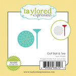 Taylored Expressions - Die - Golf Ball and Tee