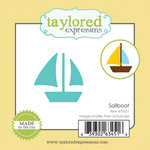 Taylored Expressions - Little Bits Dies - Sailboat