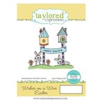 Taylored Expressions - Cling Stamp - Wishes On A Wire - Easter