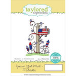 Taylored Expressions - Cling Stamp - You've Got Mail - Patriotic