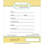 Taylored Expressions - Cling Stamp - RSVP