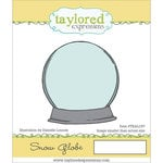 Taylored Expressions - Cling Stamp - Snow Globe