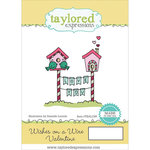 Taylored Expressions - Cling Stamp - Wishes On A Wire - Valentine