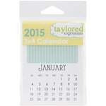 Taylored Expressions - 3 x 4 Calendar - 2015