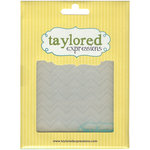 Taylored Expressions - Embossing Folder - Zig Zag