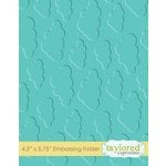 Taylored Expressions - Embossing Folder - Cloudy Days