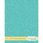 Taylored Expressions - Embossing Folder - Twirls and Swirls