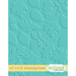 Taylored Expressions - Embossing Folder -Scattered Leaves