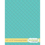 Taylored Expressions - Embossing Folder - Dotted Lattice
