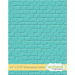 Taylored Expressions - Embossing Folder - Brick