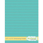 Taylored Expressions - Embossing Folder - Cable Knit