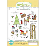 Taylored Expressions - Cling Stamp - Woodland Winter