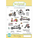Taylored Expressions - Cling Stamp - Bikes and Trikes