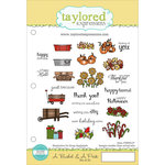 Taylored Expressions - Cling Stamp - A Bushel and A Peck
