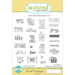 Taylored Expressions - Cling Stamp - Small Packages