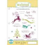 Taylored Expressions - Cling Stamp - Sparkle and Cheer