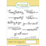 Taylored Expressions - Cling Stamp - Shade Tree Sentiments