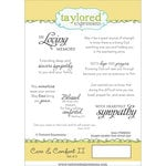 Taylored Expressions - Cling Stamp - Care and Comfort II