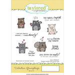 Taylored Expressions - Cling Stamp - Valentine Grumplings
