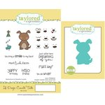 Taylored Expressions - Cling Stamp and Die Set - If Dogs Could Talk