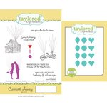 Taylored Expressions - Cling Stamp and Die Set - Carried Away
