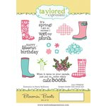 Taylored Expressions - Cling Stamp - Bloomin' Boots