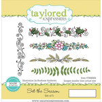 Taylored Expressions - Cling Stamp - Set The Season