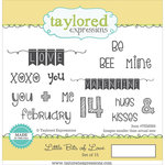 Taylored Expressions - Cling Stamp - Little Bits Of Love